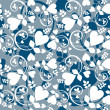 Heart wallpaper - Imagen vectorial