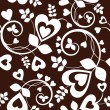 Heart wallpaper — Vector de stock #2031324