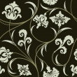 Floral wallpaper - Stock Vector