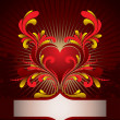 Vecteur: Heart background