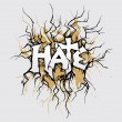Hate - Image vectorielle