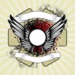 Vector de stock : Royal wings