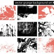 Grunge backgrounds — Stock vektor