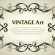 Vintage template frame — Vector de stock #2032556