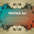 Royalty-Free Stock Vector Image: Vintage template frame