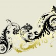 Vector de stock : Floral ornament