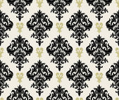 Floral wallpaper — Vettoriale Stock