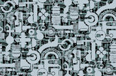 Papier peint géométrique — Vecteur