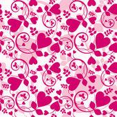 Papel de parede de coração — Vetorial Stock