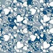 Fond d'écran coeur — Vecteur