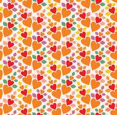 Heart wallpaper — Stock Vector