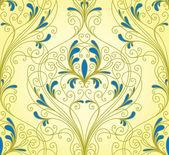Papier peint floral — Vecteur