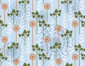 Floral wallpaper — Vecteur