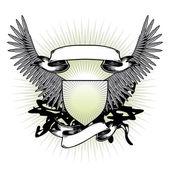 Vleugels van oorlog — Stockvector
