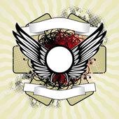 королевский крылья — Cтоковый вектор