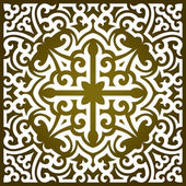 Tribal ornament — Vettoriale Stock