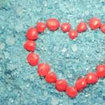 Sea heart — Stock Photo