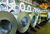 Rolls of steel sheet — Stock Photo