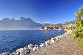 Lake Garda. Italy — Stock Photo