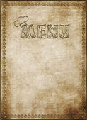 Menu of restaurant — Stock Photo