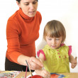 Activity in preschool — Foto Stock