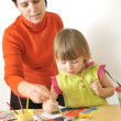 Royalty-Free Stock Photo: Activity in preschool