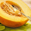 Stock Photo: Honeydew melon