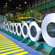Rolls of steel sheet - Foto de Stock  