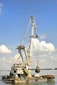 Marine dredge — Stock Photo