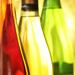 Still-life with wine bottles — Stock Photo