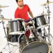 Drummer playing — Stock Photo #2288407