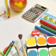 School things — Stock Photo