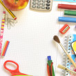 Stock Photo: School things