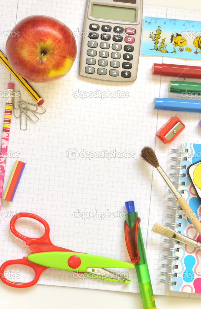 School things  Stock Photo #2301740