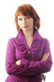 Business woman portrait — Stock fotografie