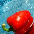 Stock Photo: Red pepper fresh
