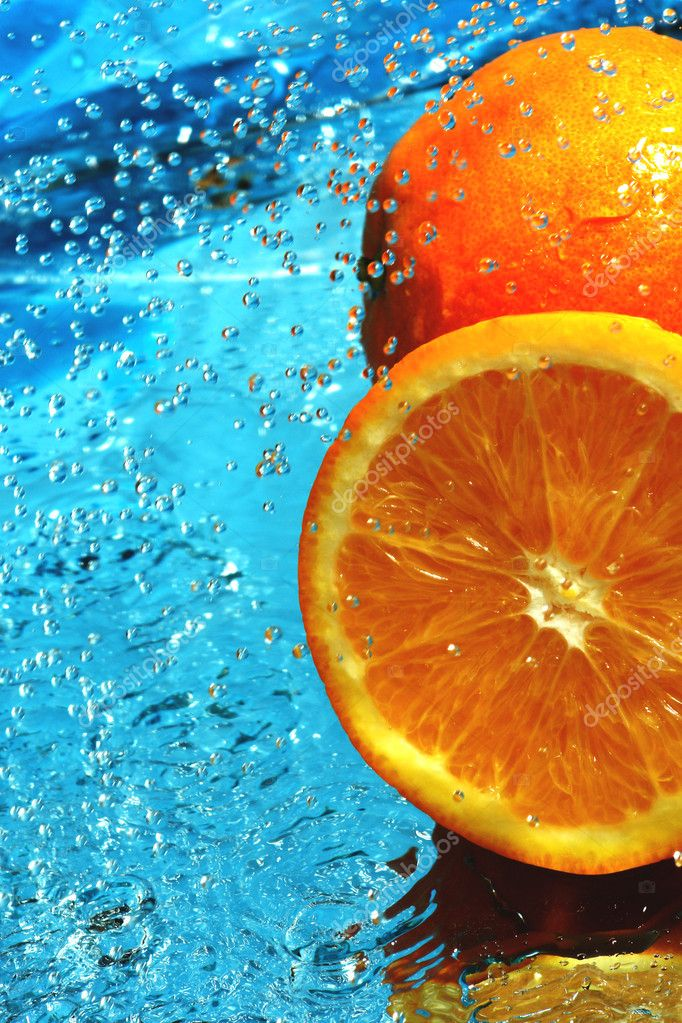 Fresh fruit orange                                — Stock Photo #2186784