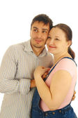 Happy man and woman — Stock Photo