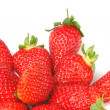 Strawberry fresh background — Stock Photo