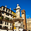 Royalty-Free Stock Photo: Piazza dante Verona