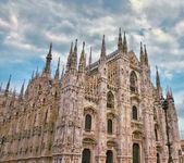 Duomo of MIlan — Stock Photo