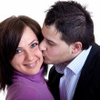 Young coupple in love - Stock Photo