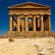 Agrigento Temple valley - Stock Photo