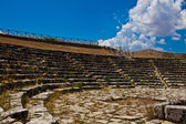 Ancient Theater in Palazzollo — Stock Photo