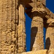Agrigento Temple valley - Foto de Stock
