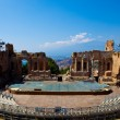 Ancient Theater in Taormina — Stock Photo #2063792