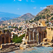 Ancient Theater in Taormina — Stock Photo #2064059