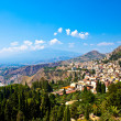 Taormina Panorama - Stock Photo