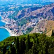 Taormina Panorama — Stock Photo