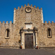 Taormina Church — Foto Stock